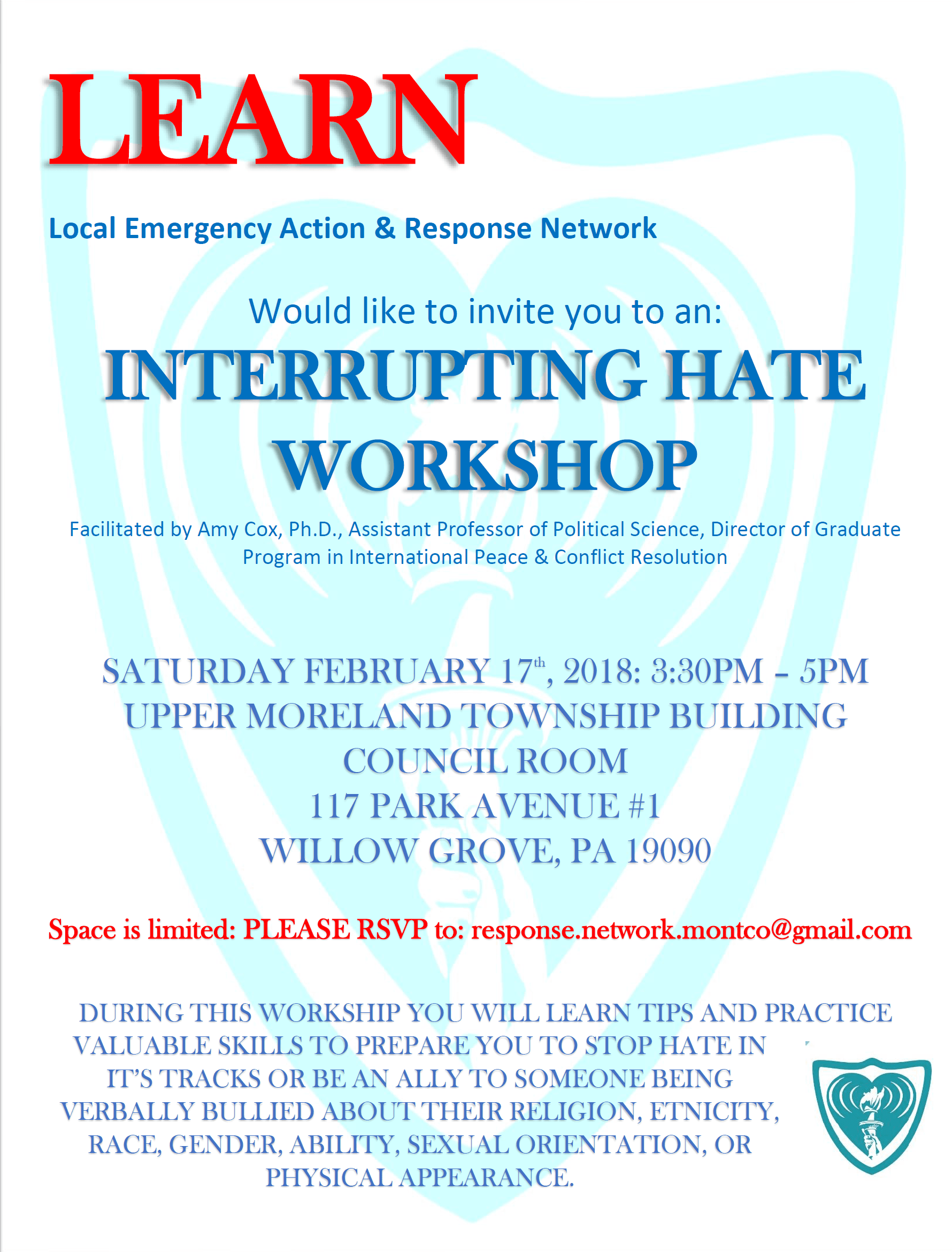Interrupting Hate Workshop