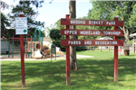 Brooks Street Park Sign