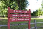 Blair Mill Sign